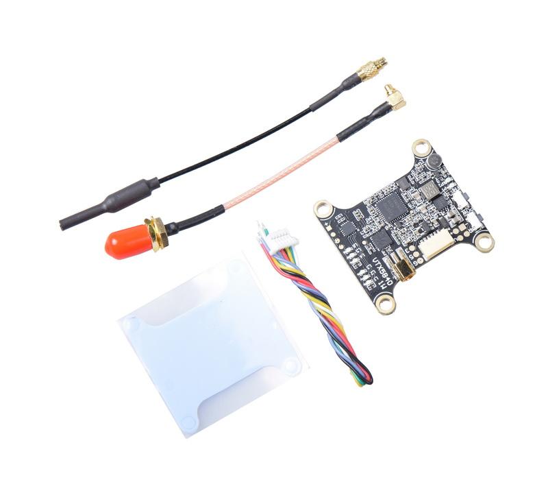 VTX5840 5.8G 40CH JHEMCU 25MW 200mW 400mW 800mW 1000mW Switchable OSD FPV Transmitter VTX for FPV Racing RC QAV Drone