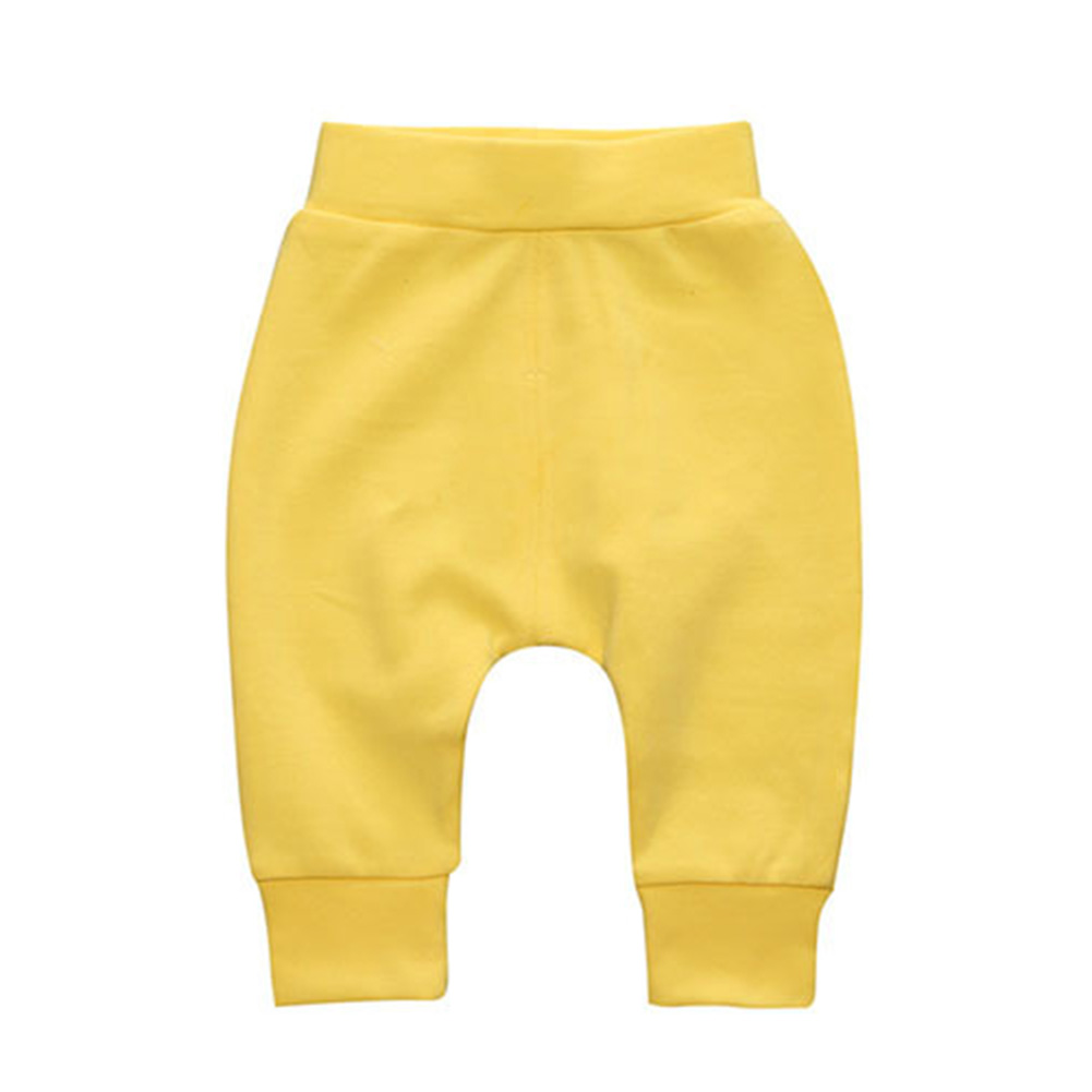 Stylish Solid-Colour Baby Boy Girl Harem Pants Cute Large PP Trousers Spring Autumn Wear Open-Seat Pants