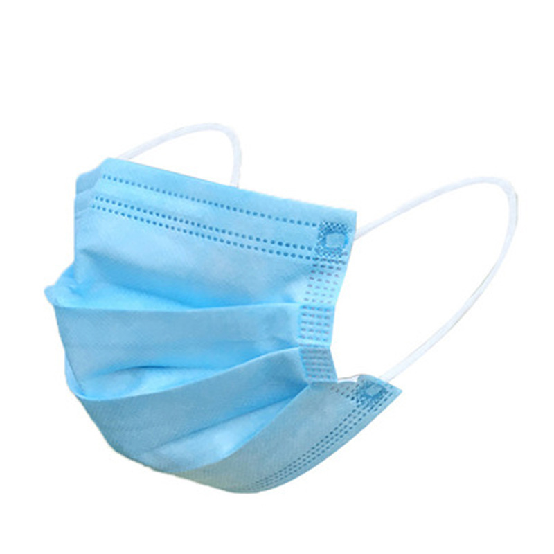 1pcs Disposable Non-woven 3-layer Mask