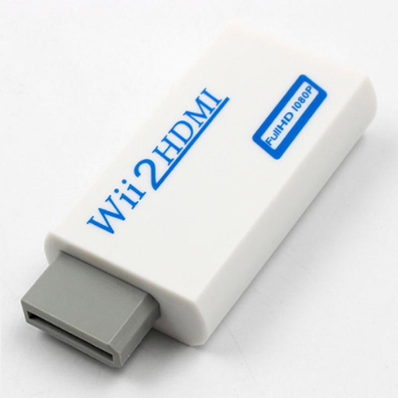 HD HDTV Wii to HDMI Video Converter Adaptor