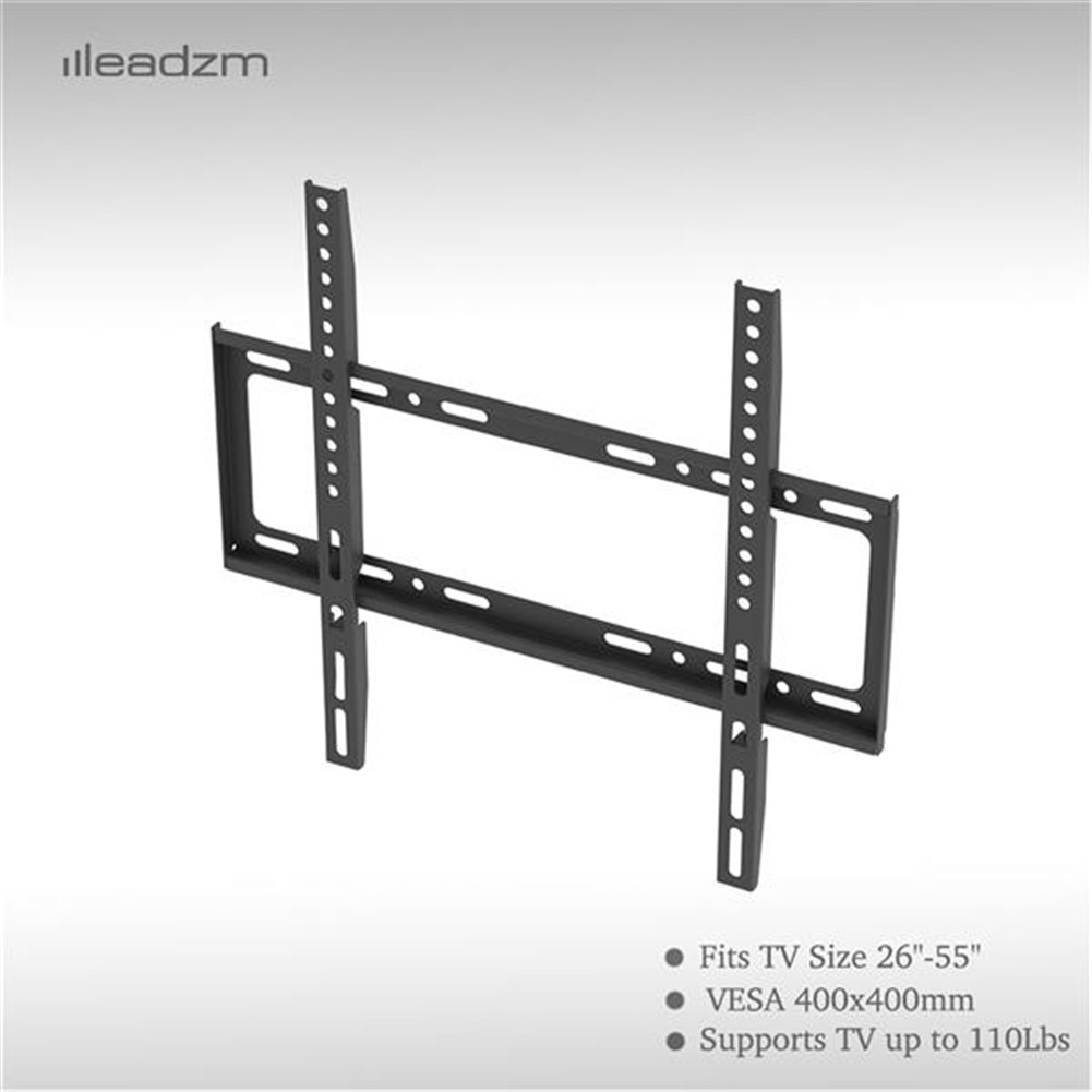 [US Direct] Original LEADZM 1 Set 26-55 Inches Tv Stand Tmw4040 Load-bearing 50kg Maximum Vesa 400x400 With Horizontal Level black