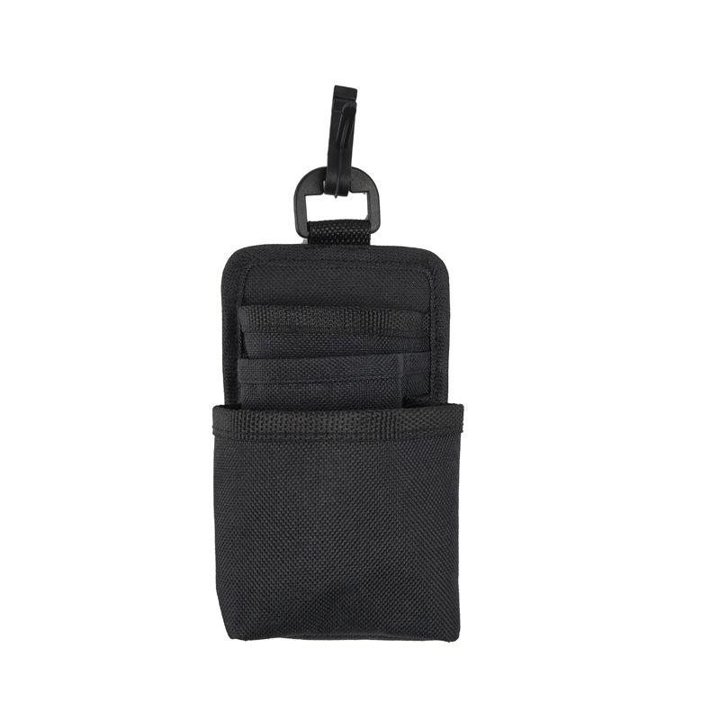 Car Pocket Ventilation Mobile Phone Bag Car Storage Bag Small Storage Organizer black