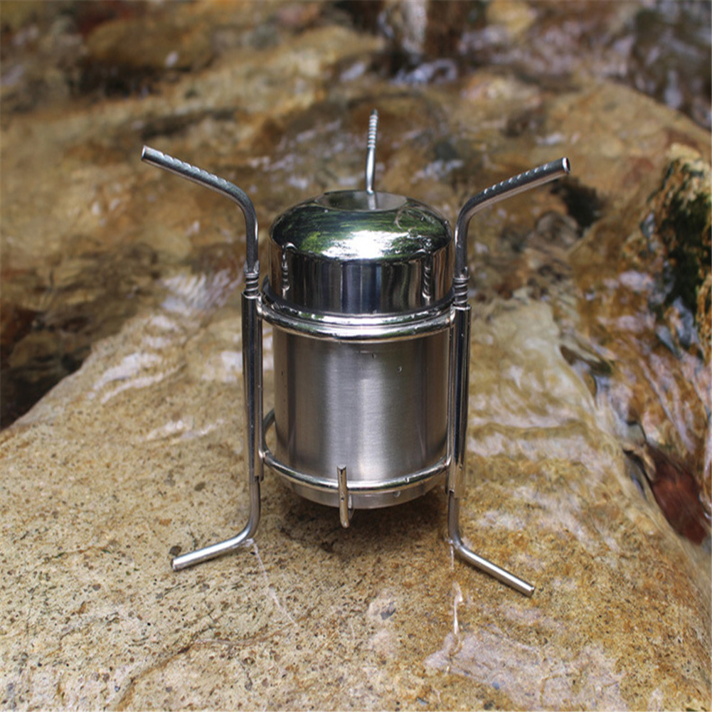 Windproof  Stove Camping Portable Boiler For Outdoor Camping Picinic Burner as picture show
