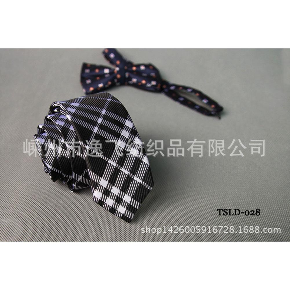 5cm Skinny Tie Classic Silk Solid Dot Narrow Slim Necktie Accessories Wedding Banquet Host Photo TSLD-028