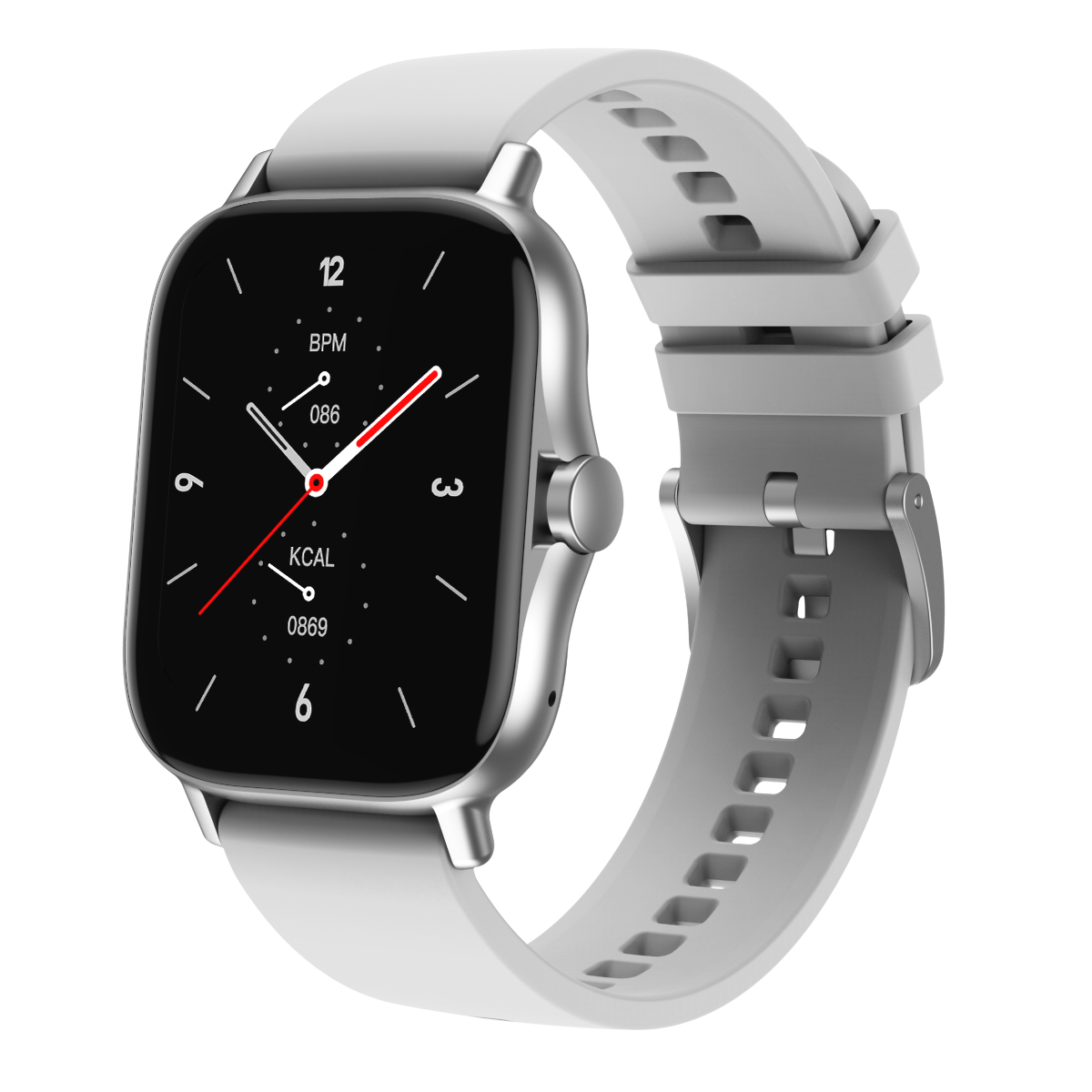 Dw11 Smart  Watch Heart Rate Blood Pressure Bluetooth Call 1.63 Hd Full-screen Multi-sport Watch gray