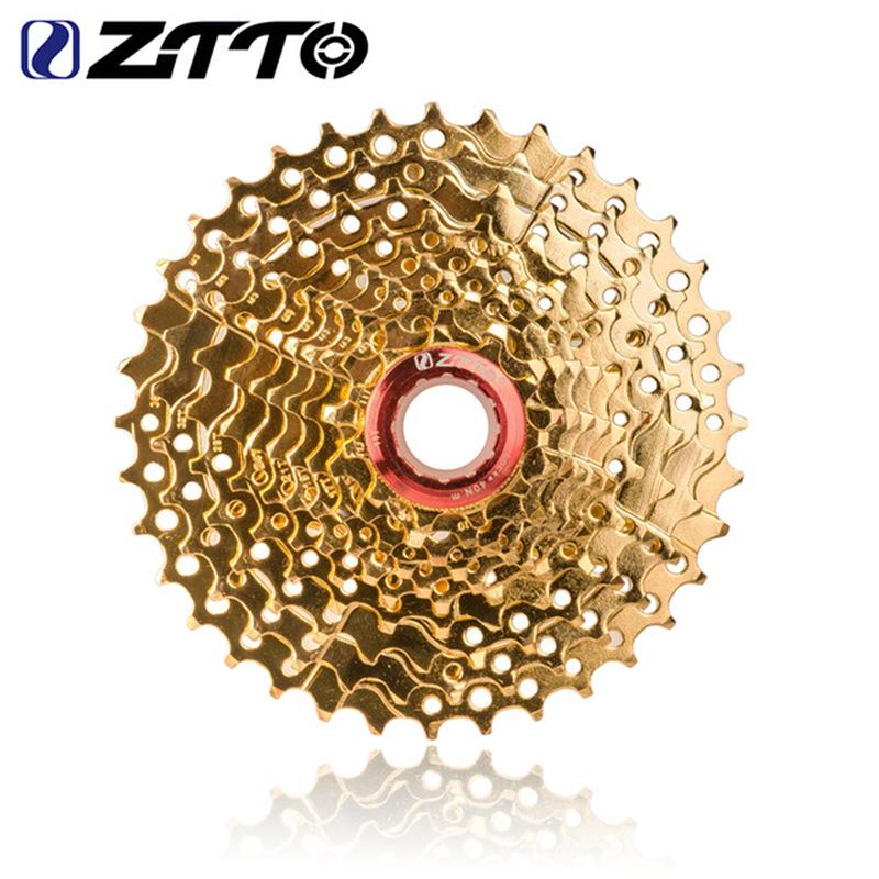 Gold 10-speed Flywheel 10 Speed 11-36t Cassette 10s 36t Sprocket 10v K7  Golden