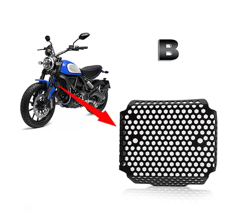 Motorcycles Aluminium Radiator Shield Fairing Motorbike accessories For Ducati Scrambler800 Engine guard RG098