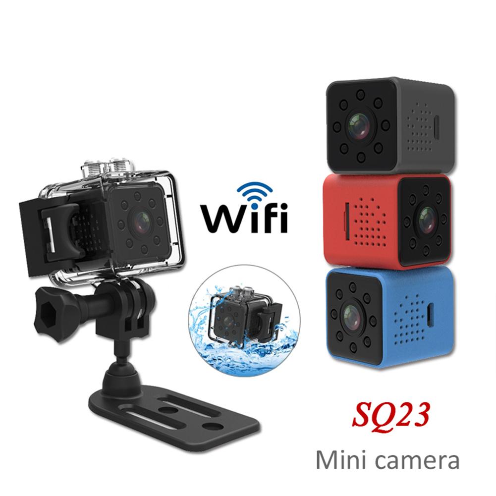 SQ23 HD WIFI Mini Camera 1080P Video Sensor Night Vision Camcorder Micro Cameras DVR Recorder  red