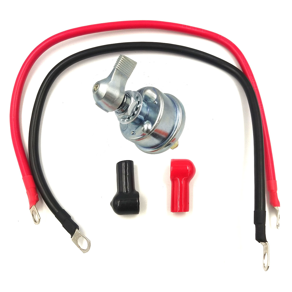 125 Amps Battery Power-off Switch For Cars Rvs Trailers Ships Trucks Power-off switch+terminal+leather cover+copper wire