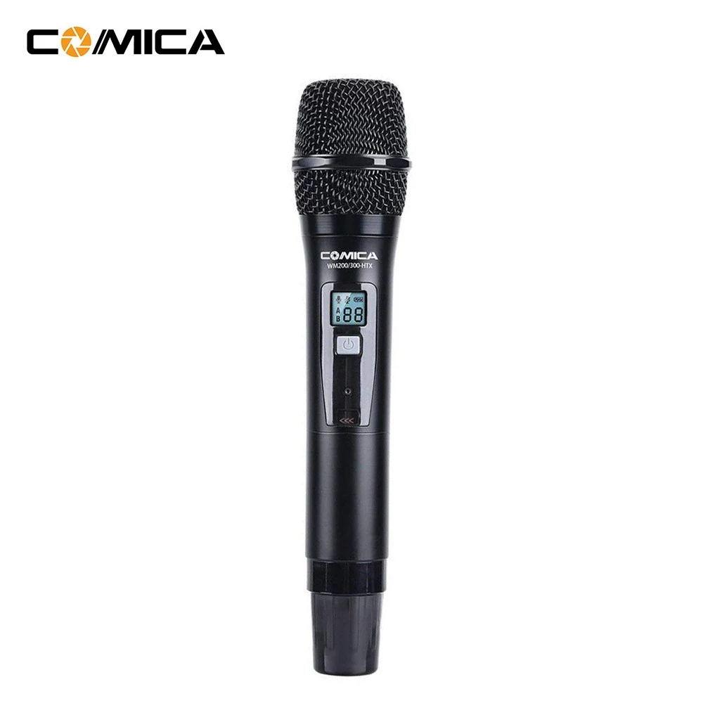 WM300HTX UHF 96-Channel Single Wireless Handheld Transmitter for WM300 Microphone System black