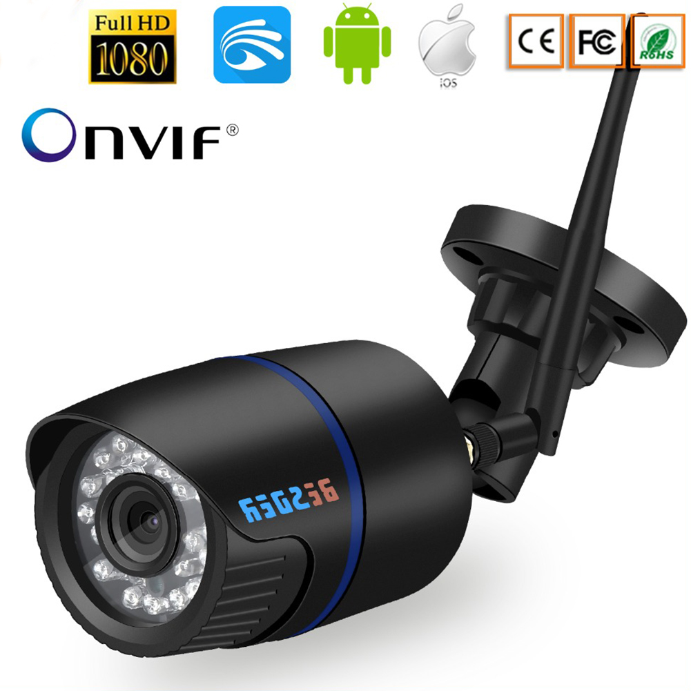 1080p IP Camera Wireless Outdoor Security Camera Waterproof 20m Night Vision Motion Detect 720P (3.6mm)