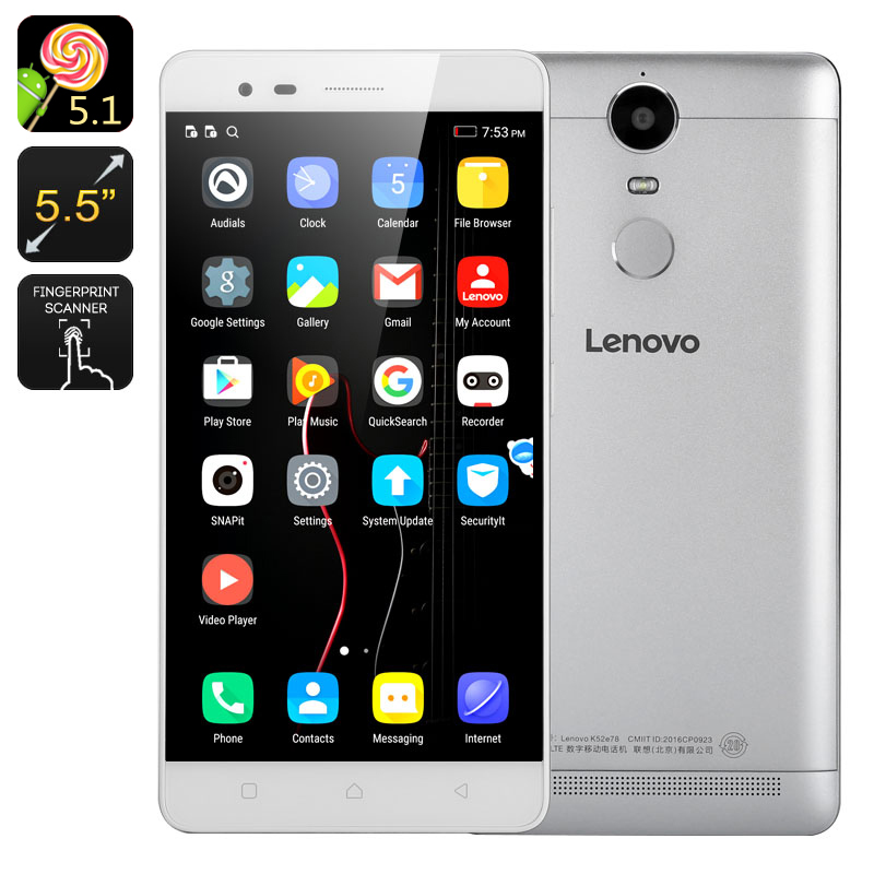 Lenovo K5 Note (White)
