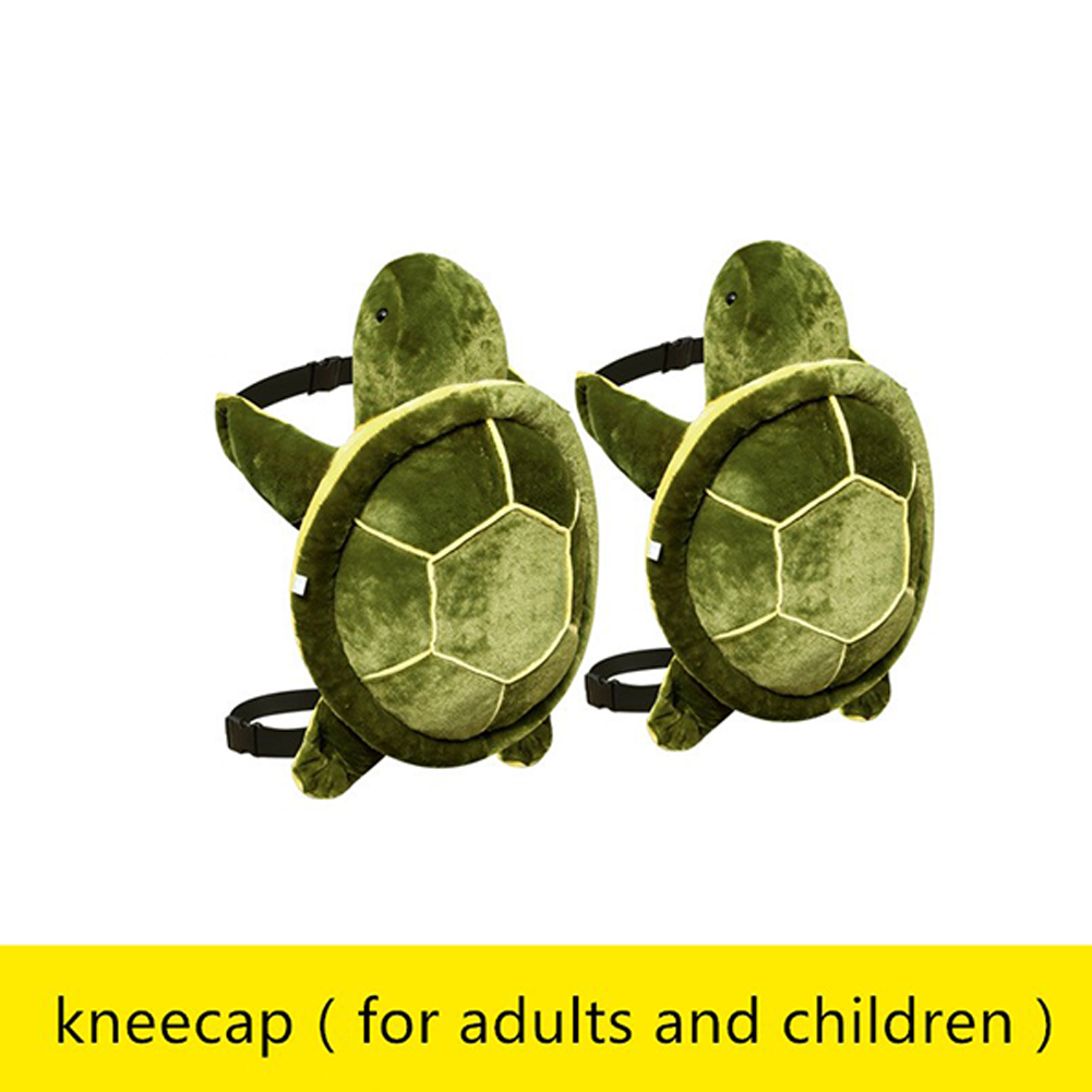 Adult Kids Outdoor Sports Skiing Skating Snowboarding Hip Protective Snowboard Knee Pad Hip Pad [Universal] Green Turtle Kneepad