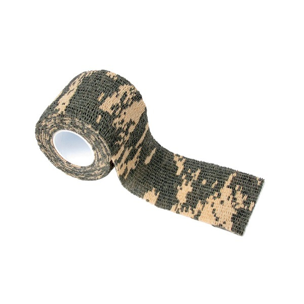 Self-Adhesive Extendable Camouflage Cloth Outdoor Hunting Camouflage Tape Bandage Riding Bicycle Sticker ACU camouflage
