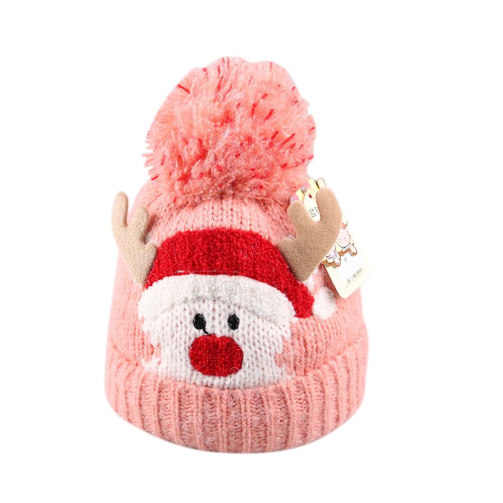 Children Christmas Ornaments Hats Santa Hats Cap for Christmas Party Props