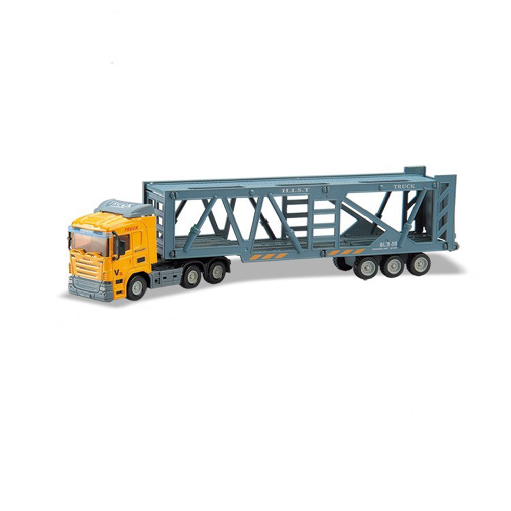 Inertial Container Trailer Truck Toys