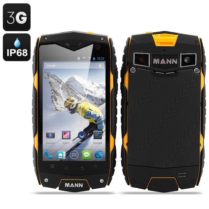 MANN ZUG 3 Android 4.3 Smartphone (Yellow)