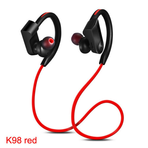 K98 Sports Waterproof Headphones Red
