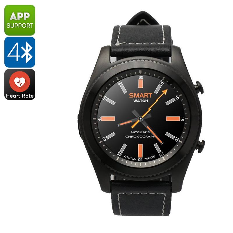 No.1 S9 Smart Watch (Black)