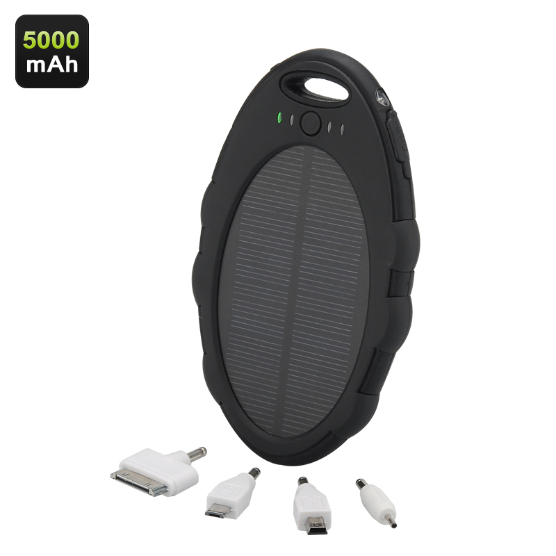5000mAh IP65 Solar Charger