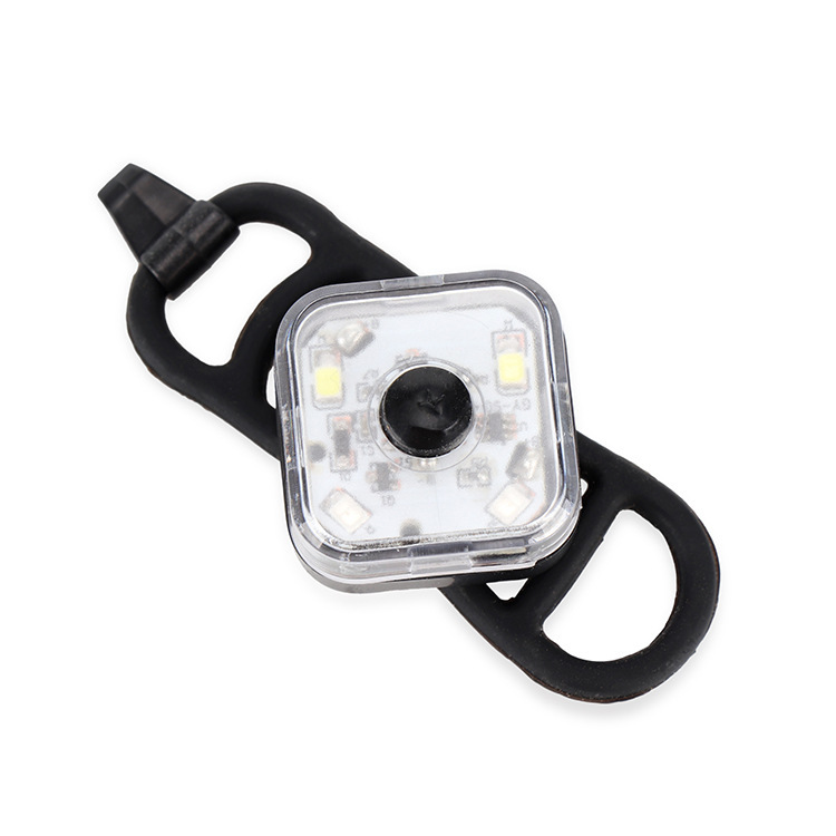 Portable Mountain Bike Headlights Taillights Warning Lights Backpack Night Running Lights Picture style