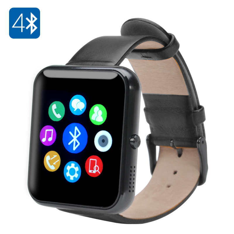 Bluetooth 4.0 Smartwatch (Black)