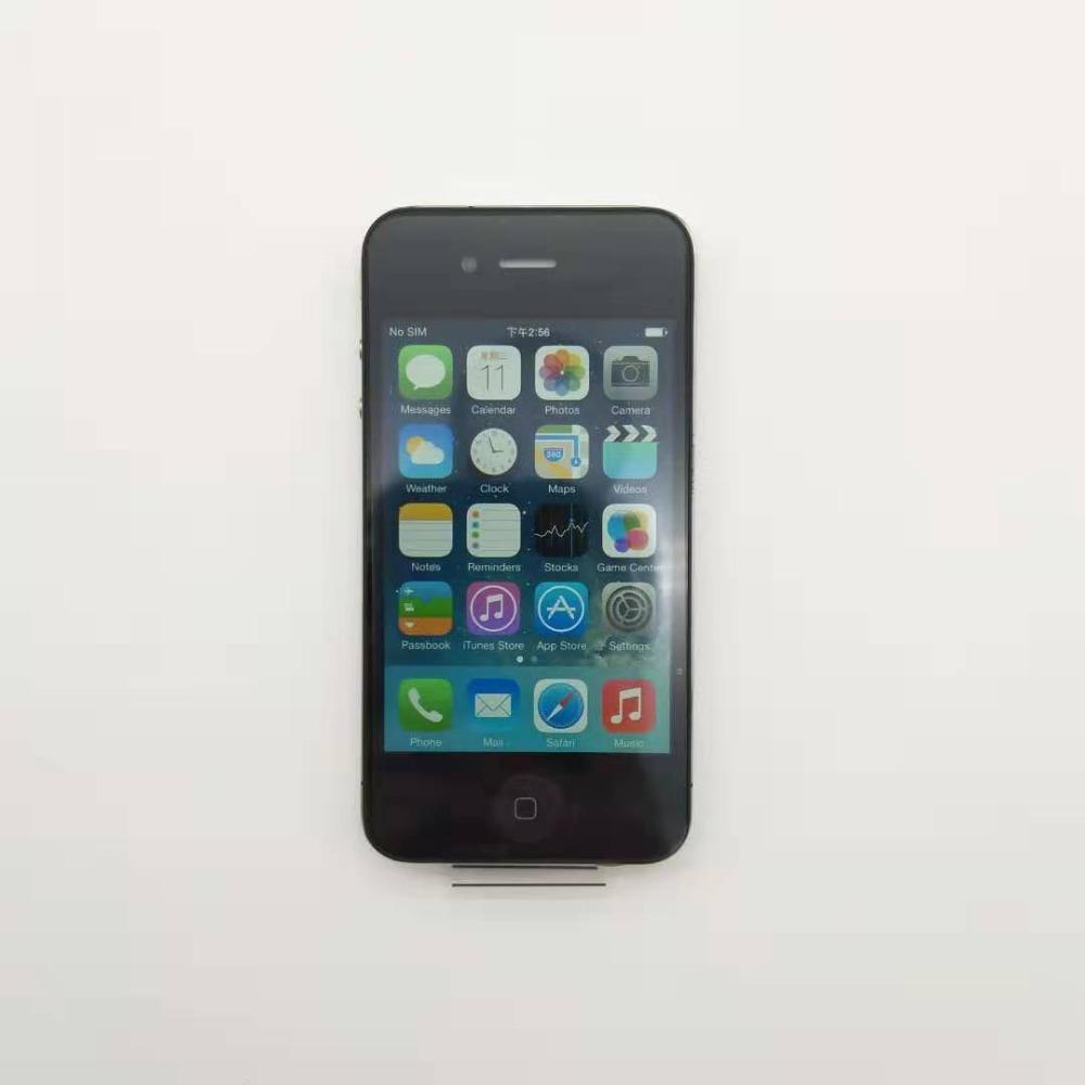 Used Unlocked Iphone 4GB 8GB 16GB 32GB ROM Dual Core 3.5 inch GSM WCDMA 3G WIFI GPS 5MP Camera Used Mobile Phone black