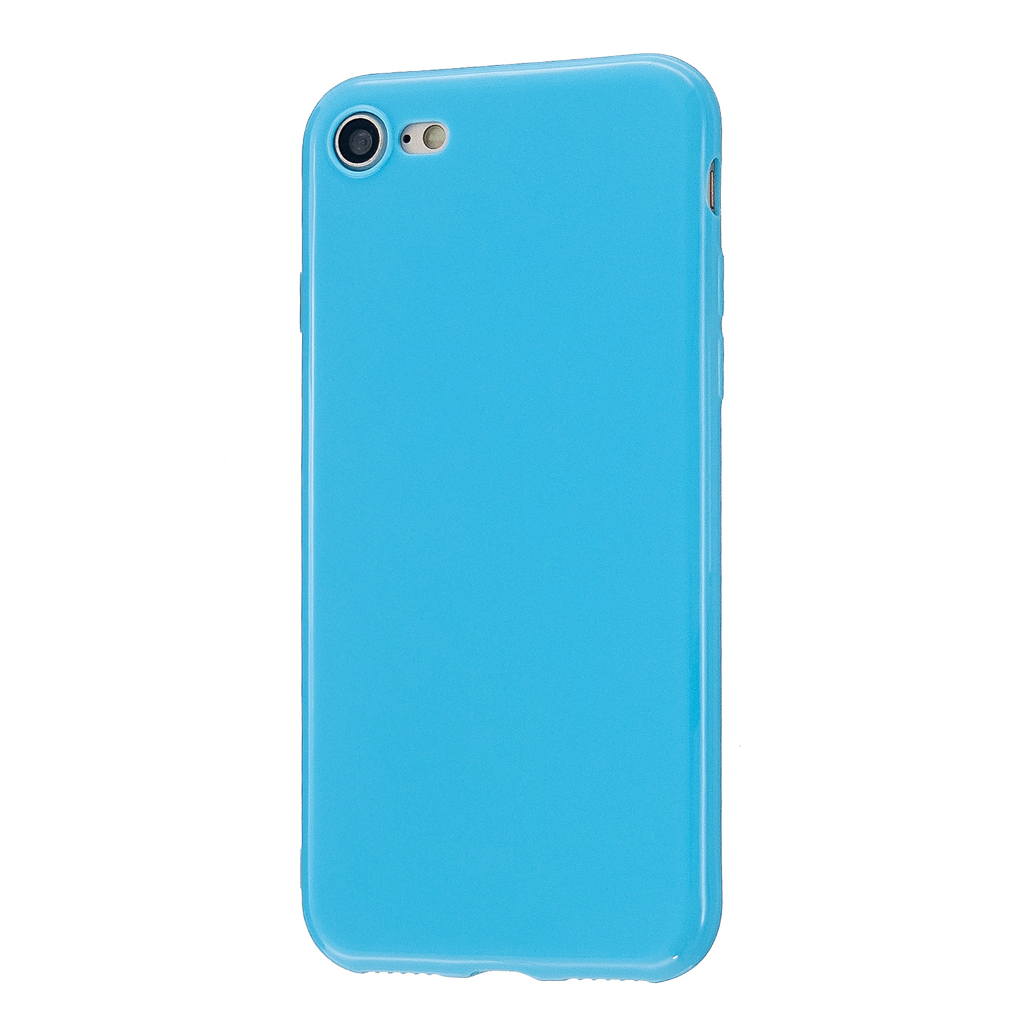 For iPhone 5/5S/SE/6/6S/6 Plus/6S Plus/7/8/7 Plus/8 Plus Cellphone Cover Soft TPU Bumper Protector Phone Shell Ocean blue
