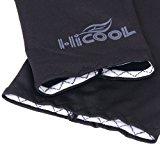 Bicycle Golf Basketball Sun Protection Arm Sleeve Arm Cooler - Black