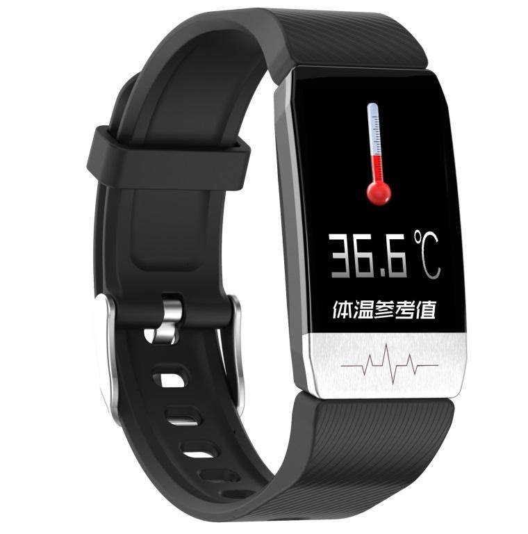T1 Smart Bracelet Fitness Tracker Blood Oxygen Blood Pressure Watches Smartwatch Activity Tracker black