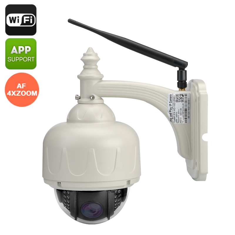Wireless Waterproof PTZ Camera