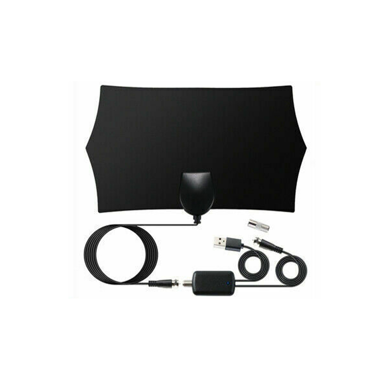 960 Mile Range Antenna TV Digital HD Skywire 4K HDTV 1080P Indoor with Amplifier black