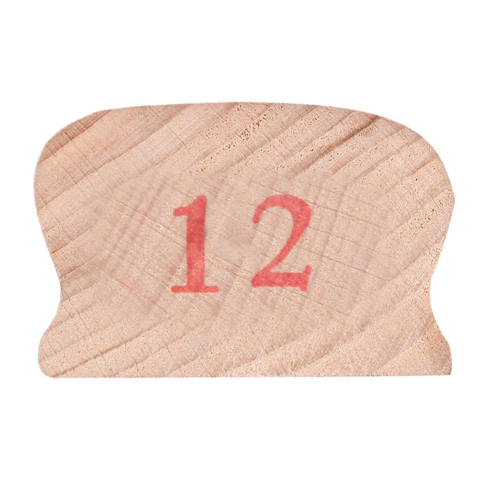 Wooden Polished Block for Guitar Bass Fret Leveling Fingerboard Luthier Tool + 2 Sandpaper 12#