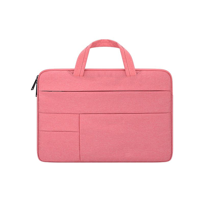 Simple Laptop Case Bag for Macbook Air 11.6 inches, 12.5 inches, 13.3 inches, 14.1 inches Notebook Handbag  pink_14.1 inch