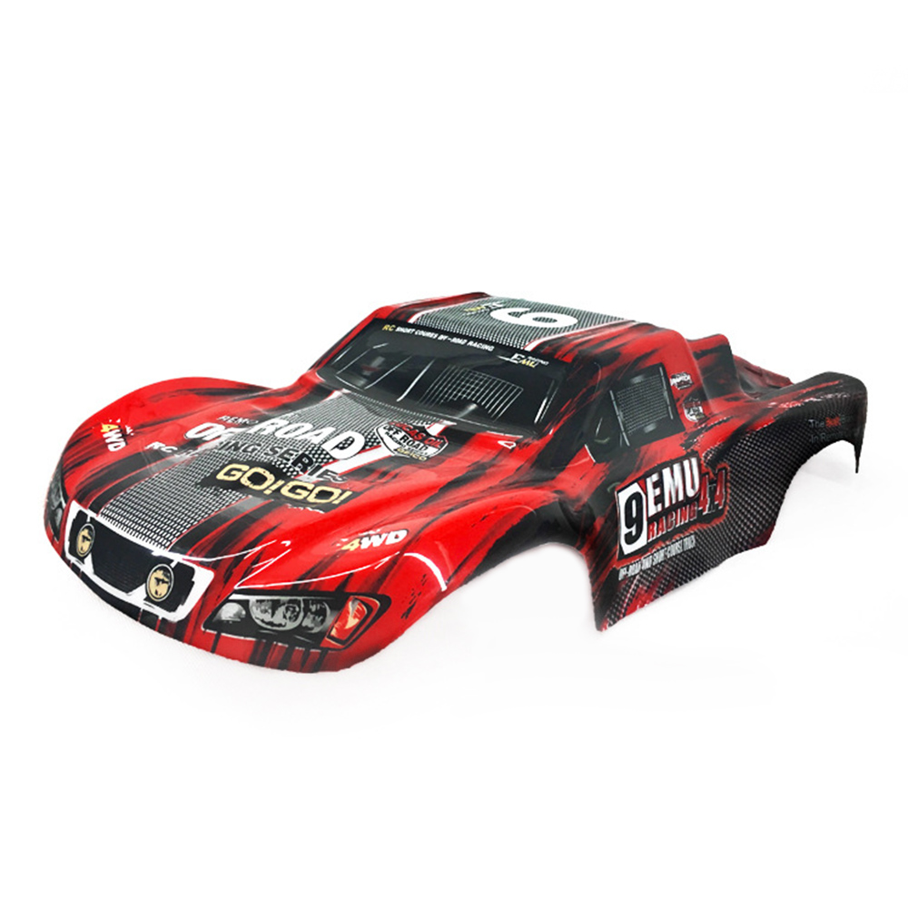 Remo Plastic PVC Car Shell Surface Body M0280 for 1/10 HQ 727 4X4 Traxxas SCX10 Slash Case Remote Control Toys Spare Parts 4.0 red