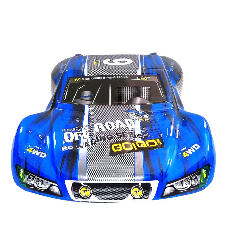 Remo Plastic PVC Car Shell Surface Body M0280 for 1/10 HQ 727 4X4 Traxxas SCX10 Slash Case Remote Control Toys Spare Parts 4.0 blue
