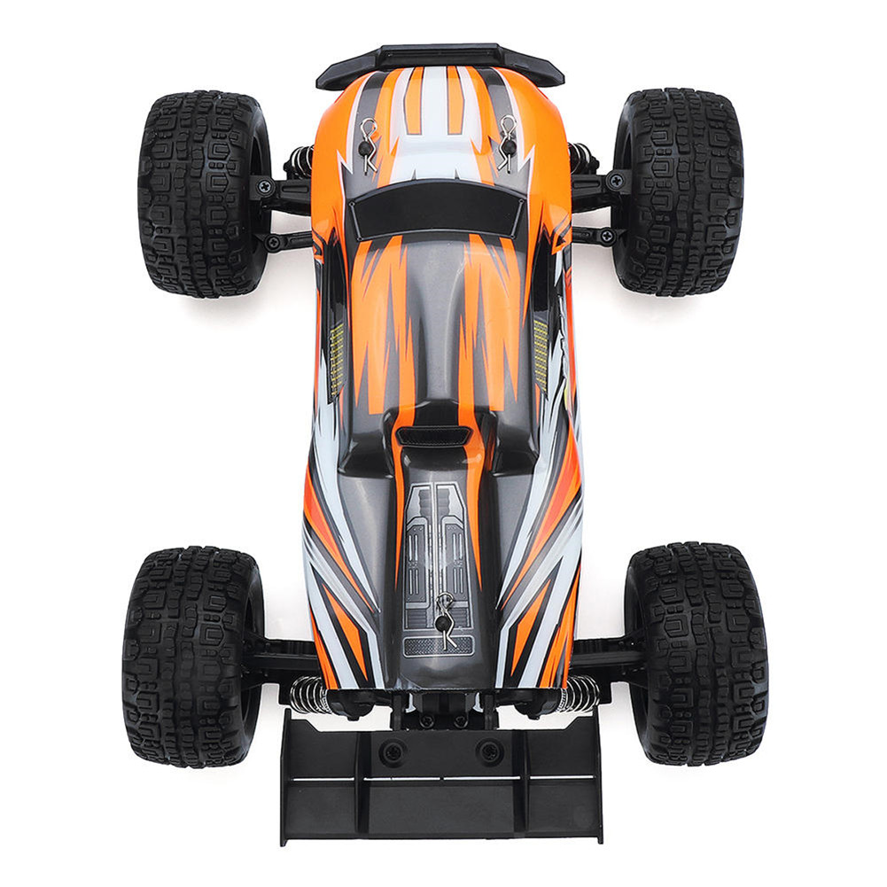 SG1602 2.4G 2CH 1/16 Brushless 45KM/H Proportional Control RC Car High Speed 45km/h Vehicle Models with LED Lights Orange