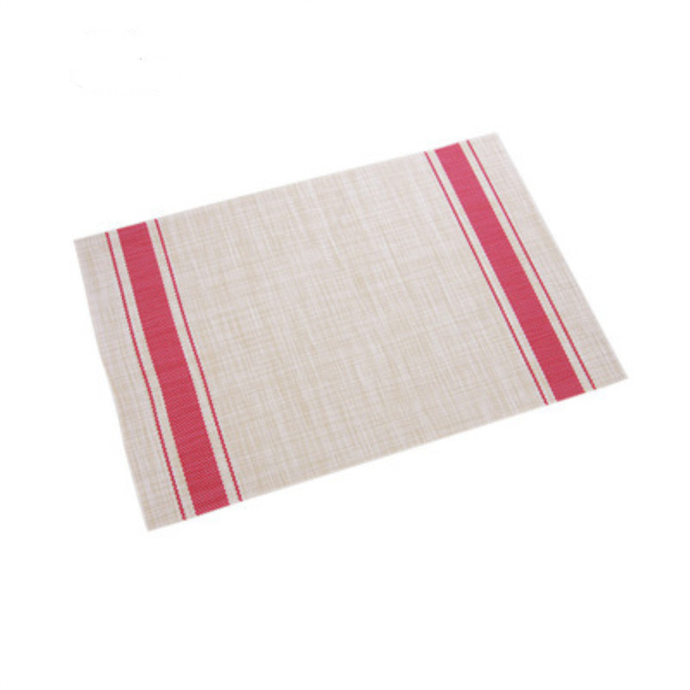 Home Square Thermal Insulation Placemat for Dish Tableware Table Decor