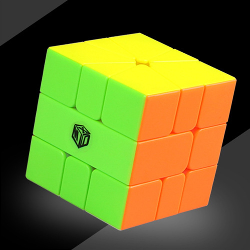 Qiyi Sq-1 Magic Cube Puzzle Toy For Kids Boys  Girls Stress Reliever colors