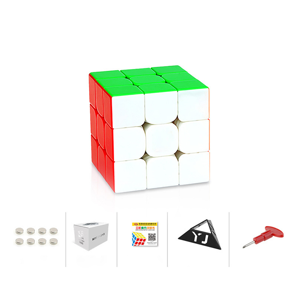 Magic Cube Yj Yongjun Zhilong Magic Cube Mini Magnetic Cube Educational Toy 3x3x3