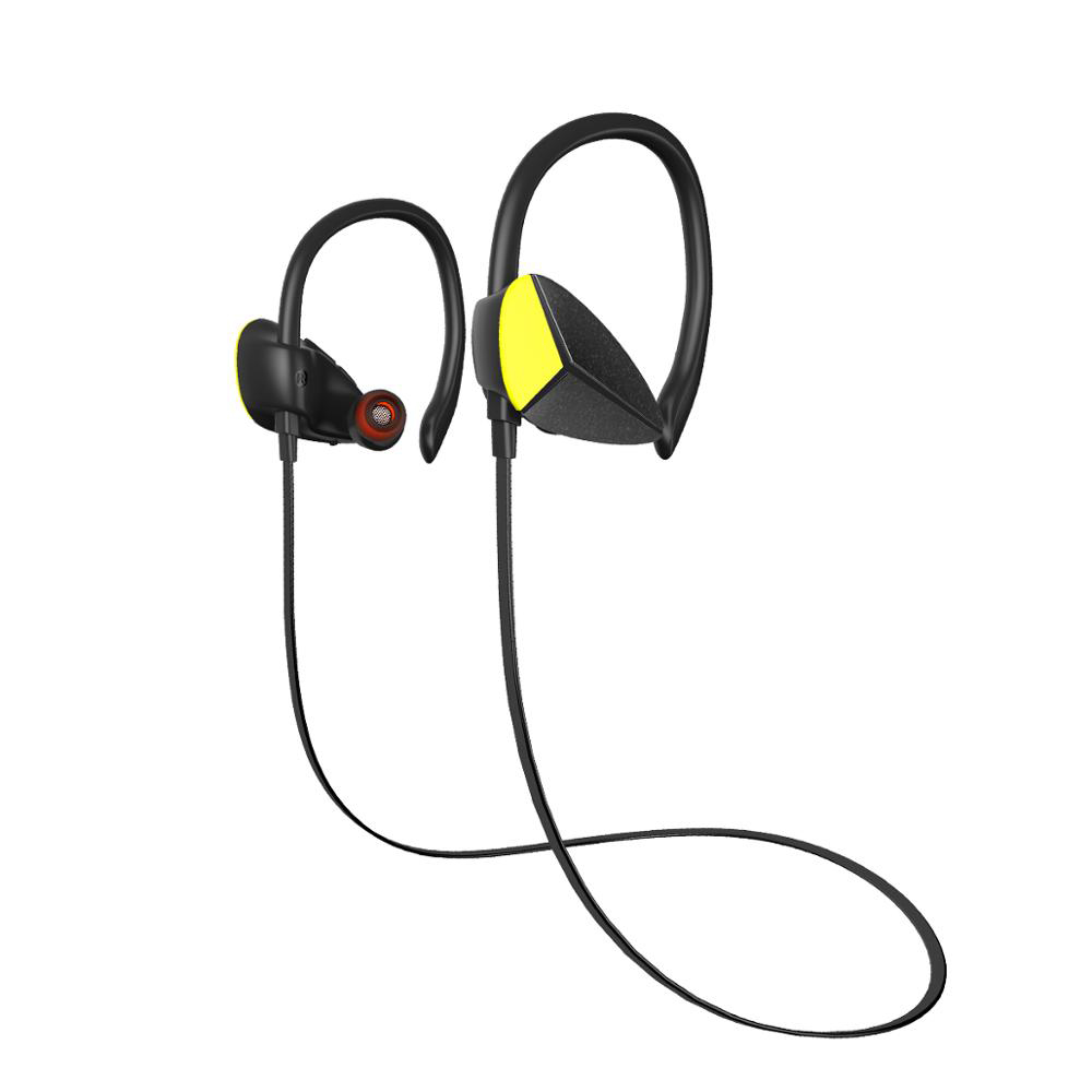 Awei A888BL Sport Wireless Earphones Bluetooth IPX4 Waterproof Bass Stereo Headset with Microphoe Noise Reduction Black