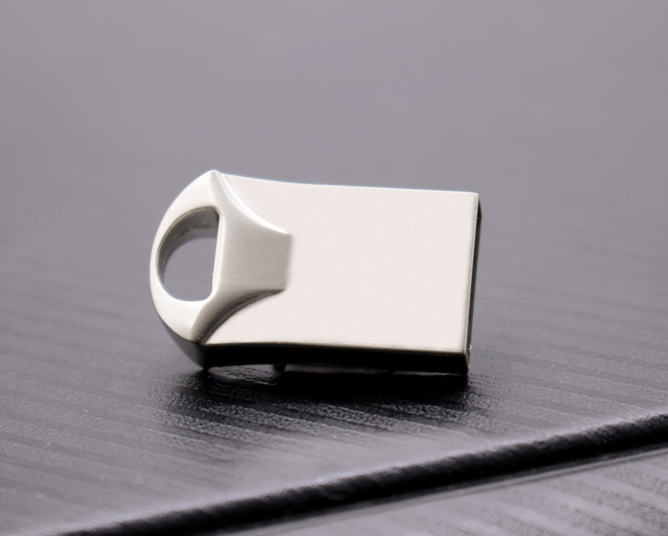 Super Mini Metal USB Flash Drive 4GB 8GB 16GB 32GB 64GB Pen Drive Flash Stick Pendrive