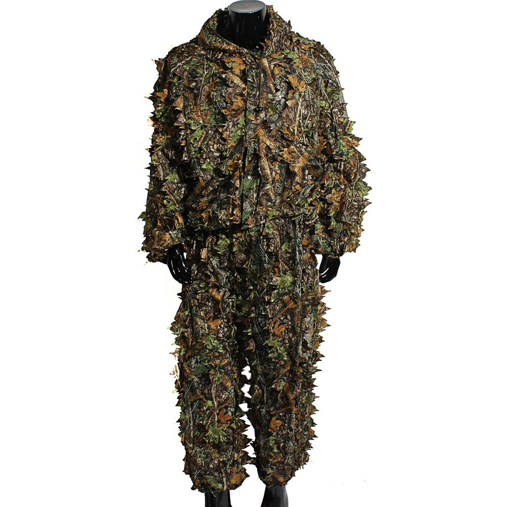 Maple Leaf Hooded 3D Bionic Uniform Sniper Cl