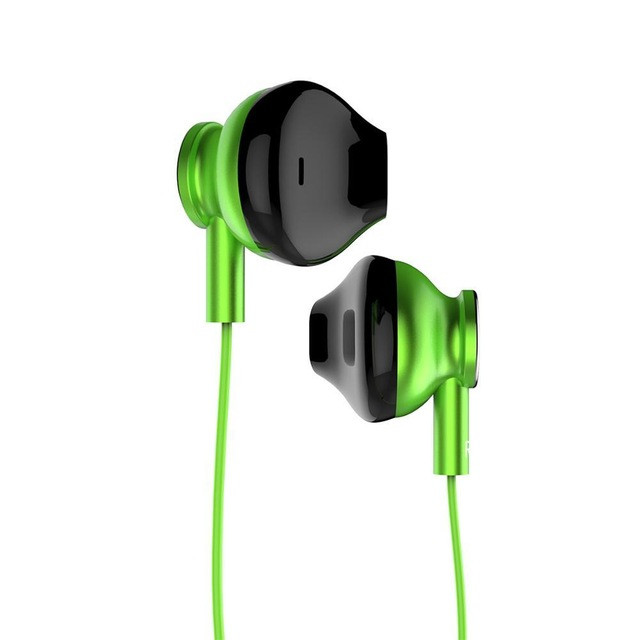 Original ORICO In-ear Wired Earphone Colorful HiFi Headset Gamer Earbuds Bass Music Gaming Headphones with Mic for Xiaomi Honor iPhone green