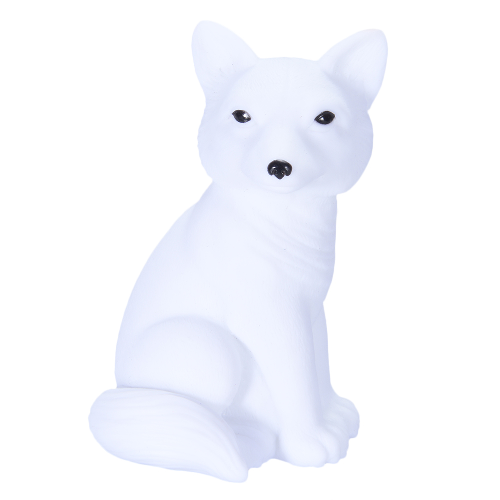 [EU Direct] Cute Cartoon Animal LED Night Light Rabbit Fox Owl Shape Lights Luminous Toys Home Decoration Kids Gift