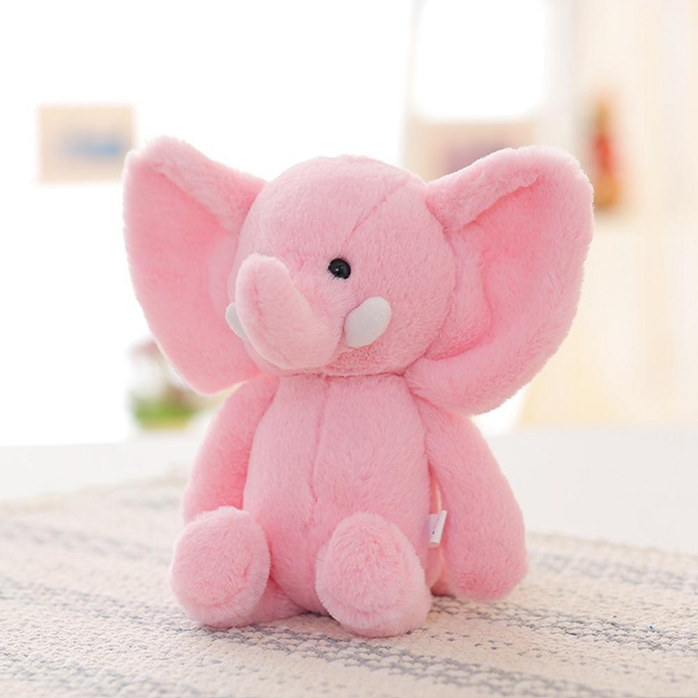 [EU Direct] Plush toy baby elephant fluffy pink elephant
