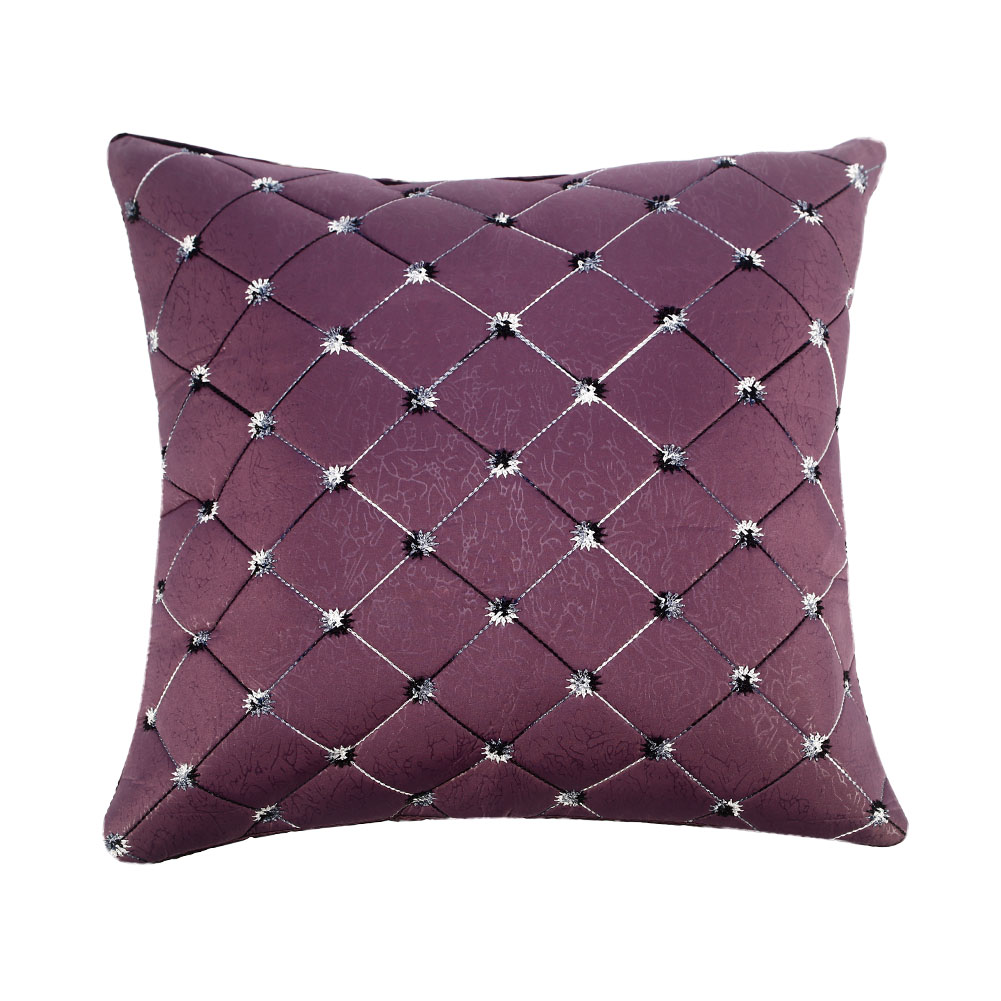 Multicolored Plaids Throw Pillow Case