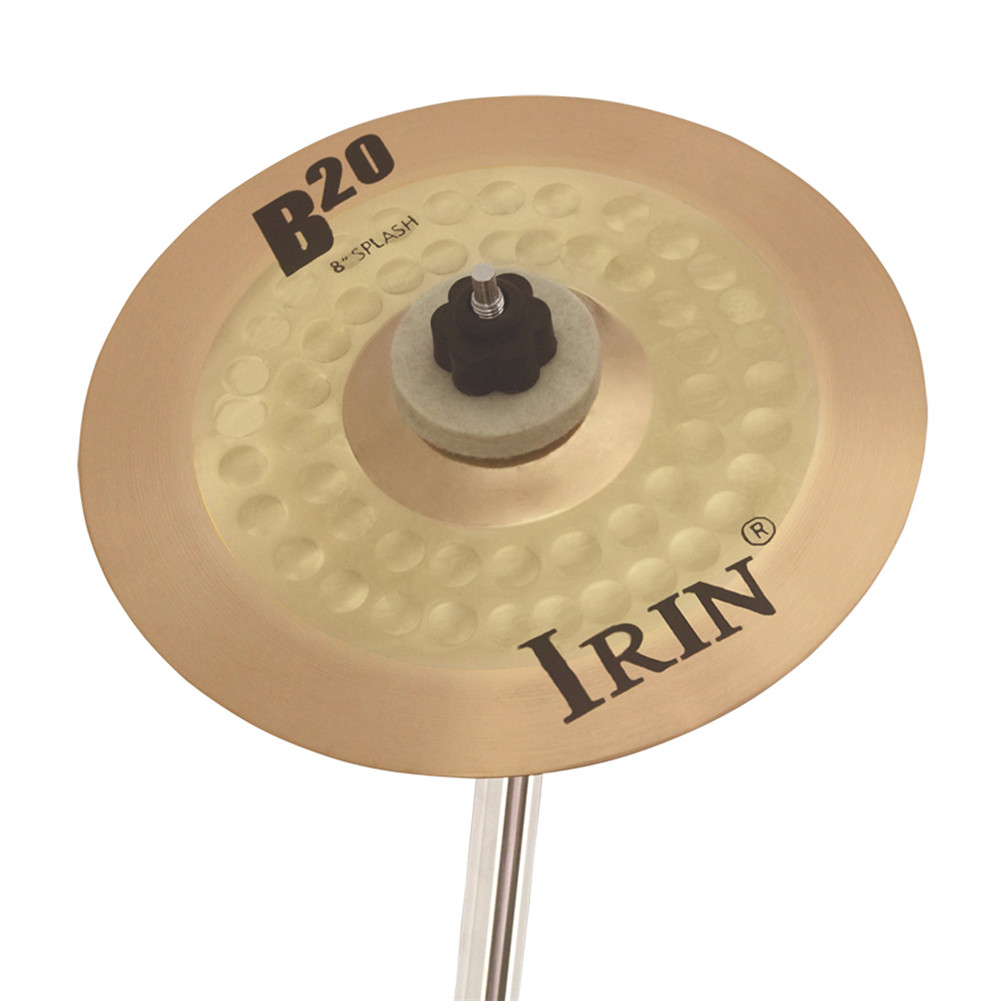 8 Inch  B20  Cymbal Professional Bronze Cymbal  for  Drum Set 20*20cm