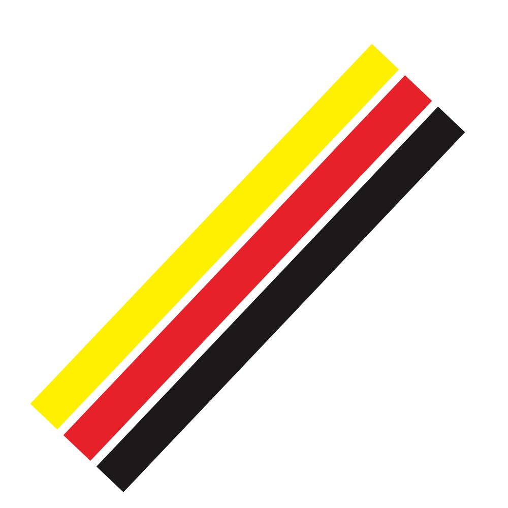 D-1045 Tricolor Lines Custom Vinyl Decal Car Body Door Side Stickers Stripes Racing Style for Bmw Audi Kia Honda Toyota Style 2