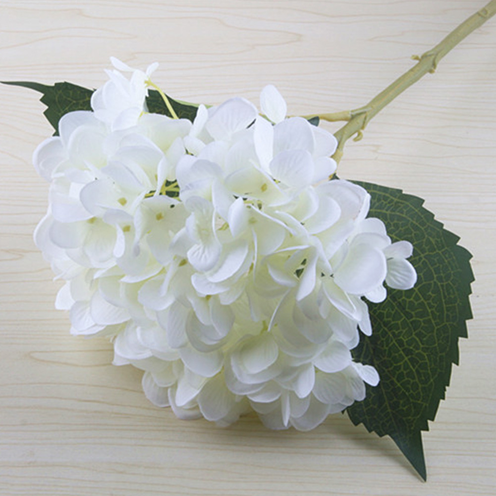 Beautiful Exquisite Silk Flowers Bridal Bouquet Gorgeous Hydrangea Home Decoration Photographing Props